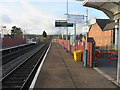 SJ3068 : Shotton high-level station, looking south west by John S Turner