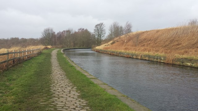 Bend in the Manchester Bolton & Bury Canal