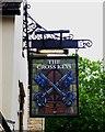 SP3509 : The Cross Keys (2) - sign, 1 Market Square, Witney, Oxon by P L Chadwick
