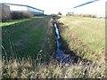 SE5133 : Green Dike, Sherburn Enterprise Park [2] by Christine Johnstone