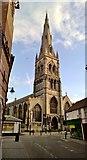 SK7953 : St Mary Magdalene parish church, Newark by Chris Morgan
