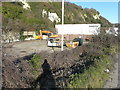 TR3140 : Former carpark of Folkestone Fixings by John Baker