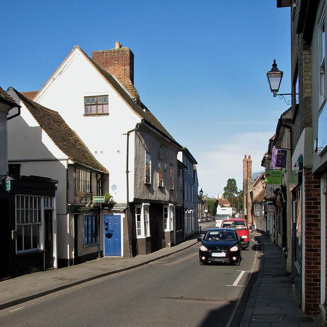 Royston: in Kneesworth Street