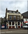 TQ5474 : The Stage Door, Dartford by Chris Whippet