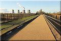 SK8379 : Torksey Viaduct by Richard Croft