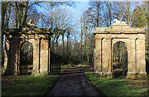 NS2209 : Cat Gates, Culzean by Billy McCrorie