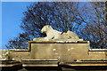 NS2209 : Cat Sculpture, Culzean by Billy McCrorie