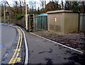 ST0894 : Abercynon Switching Site electricity substation by Jaggery