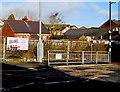 SO1911 : Fenced-off site of a demolished school, Brynmawr by Jaggery