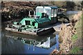 SO8602 : Canal dredger barge by Philip Halling