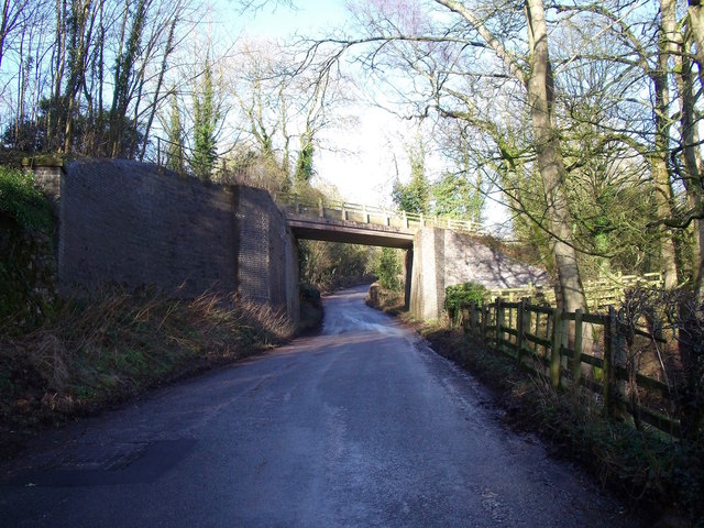 The Tissington Trail crossing Spend Lane