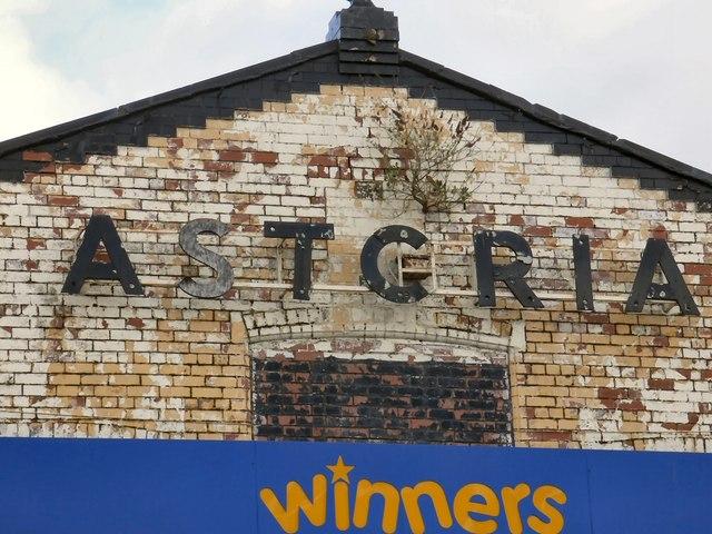 Astoria signage