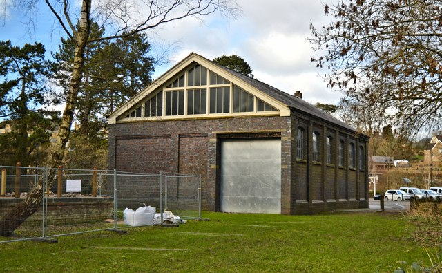Tetbury branch GWR goods shed