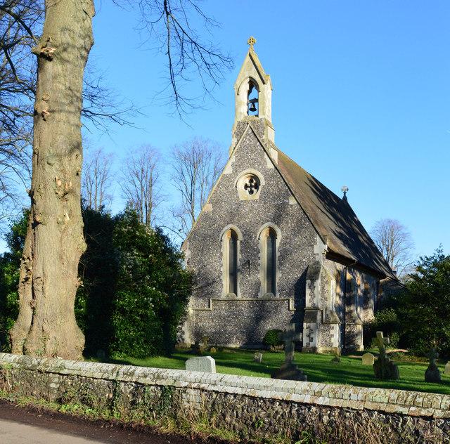 Church of St John the Baptist, Kidmore End, Oxfordshire