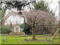 TQ3793 : Chingford Old Church : churchyard by Julian Osley