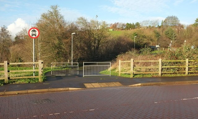 Former line of Edginswell Lane