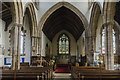 TF1134 : Interior, St Andrew's church, Billingborough by Julian P Guffogg