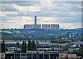 SK4929 : Ratcliffe-on-Soar Power Station from Nottingham Castle by John Sutton