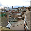 SJ8990 : Rooftops of Stockport by Gerald England