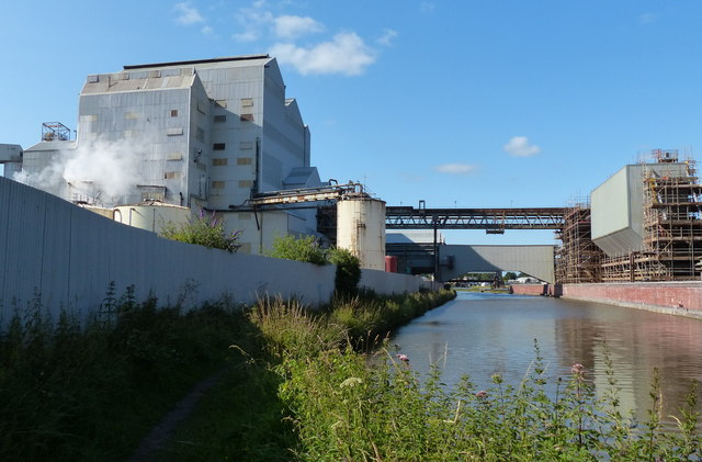Tata Chemical Works and the Trent & Mersey Canal