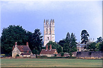 SP5206 : Tower, Magdalen College by Anthony O'Neil
