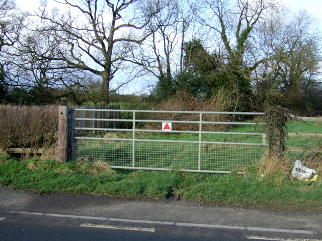 Field entrance off Skipsea Road (B1249)