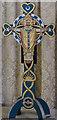 TF1340 : Altar cross, St Andrew's church, Helpringham by Julian P Guffogg