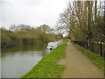 TQ1579 : Hanwell, moorings by Mike Faherty