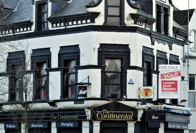 """Former """"Parkview Bar"""", Belfast (February 2016)"""