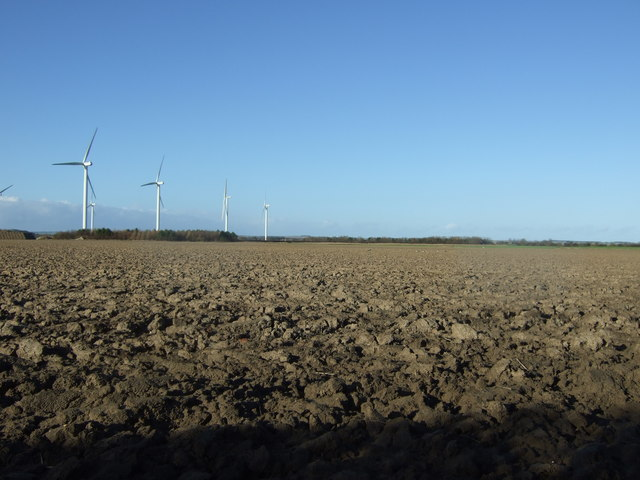 Ploughed field off Lissett Lane (A165)