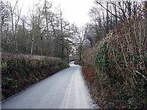 SH9234 : The B4403 road to Llanuwchllyn  by John Lucas