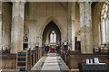 TF1337 : Interior, St Michael's church, Swaton by Julian P Guffogg
