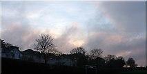 SX9065 : Sunset over Cricketfield Road, Torquay by Derek Harper