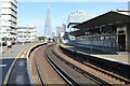 TQ3180 : View towards The Shard, Waterloo East Station by N Chadwick