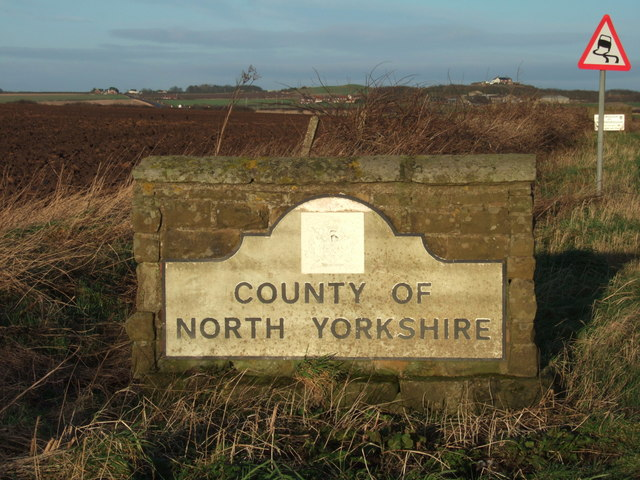 7e17739b5 County of North Yorkshire sign © JThomas cc-by-sa/2.0 :: Geograph ...