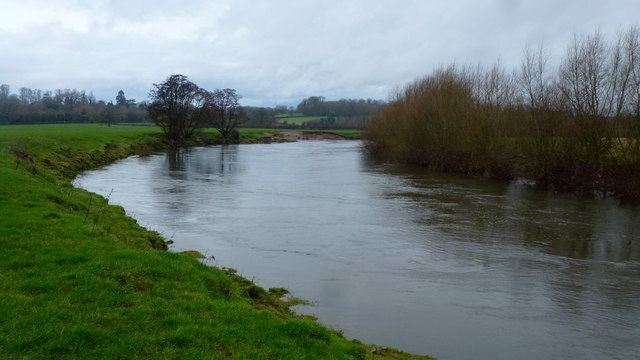 The River Wye at Holme Lacy