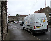 ST6976 : Star Jumpers Gym Club van in Pucklechurch by Jaggery