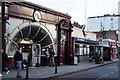 TQ2478 : West Kensington Underground Station by Peter Trimming
