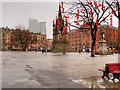 SJ8398 : Albert Square by David Dixon