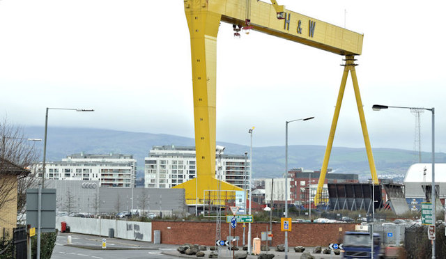 Development site, Sydenham Road, Belfast - February 2016(1)