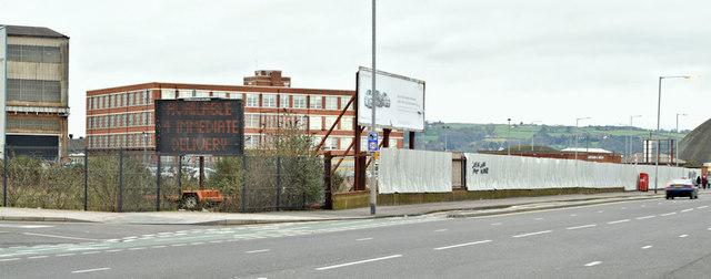 Development site, Sydenham Road, Belfast - February 2016(2)