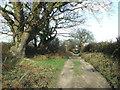 TM5095 : Footpath by Keith Evans