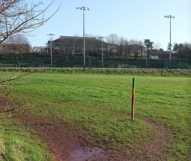 Playing field, Torquay Grammar Schools