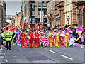 SJ8497 : Chinese Dancers on Princess Street (Dragon Parade) by David Dixon