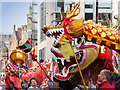 SJ8497 : Chinese Dragon on Princess Street by David Dixon