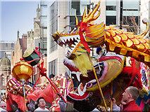 SJ8497 : Chinese Dragon on Princess Street by David Dixon