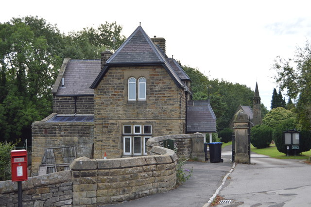 Entrance Lodge, Bakewell Cemetery
