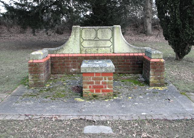 St Andrew's hospital - cemetery
