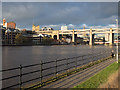 NZ2463 : River Tyne by Trevor Littlewood