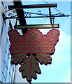 TA1178 : Sign for the Royal Oak public house by JThomas